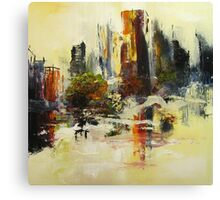 City Point of View Canvas Print