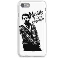 Neville F'in Longbottom iPhone Case/Skin