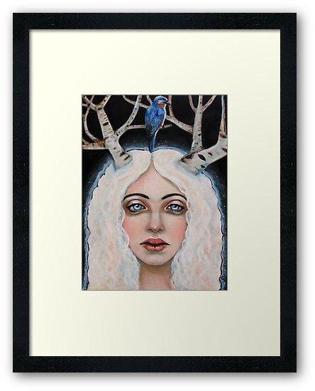 The Birch Tree Spirit by MoonSpiral