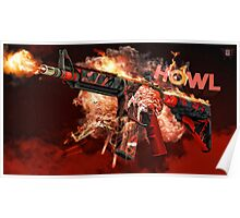 M4A4 | Howl  Poster
