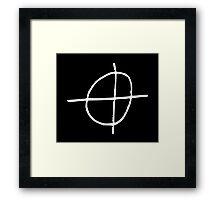 Zodiac Killer Framed Print