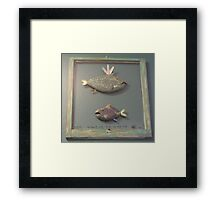 "Windows are fish to the sole 6 of 13.  30"" x 32"" (SOLD) Framed Print"