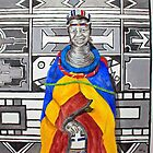 Woman of the Ndebele by shadebe
