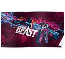 M4A1-S | Hyper Beast Poster