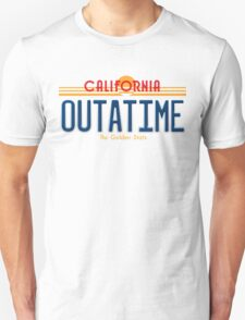 Back to the Future II Licence Plate Outatime Unisex T-Shirt