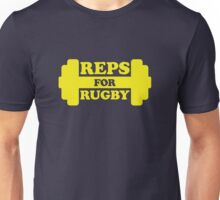 Retro Reps for Rugby - Yellow Unisex T-Shirt