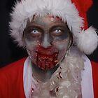 Zombie Santa by benedictwells