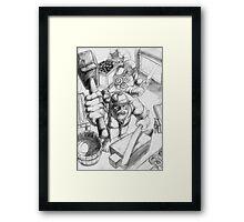 Dwarf Smithy Framed Print