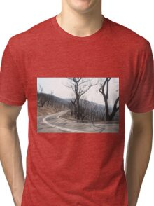St Andrews Kinglake Road after February 7, 2009 Tri-blend T-Shirt