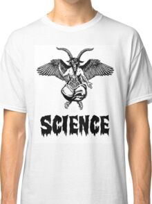 Science is the devil Classic T-Shirt
