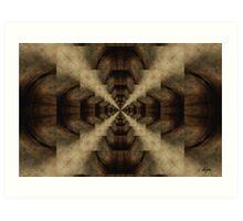 Deeper Space_Kaleidoscope Card Art Print