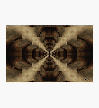 Deeper Space_Kaleidoscope Card Photographic Print