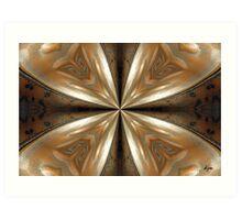Teapot_Kaleidoscope Card Art Print