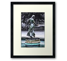 Touch of Watery Luck Framed Print