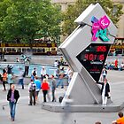 355 Days To Go, Olympic Clock, London by Andrew Lawrence