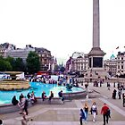 Trafalgar Square, London by Andrew Lawrence