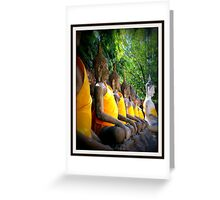 Colourful Beliefs Greeting Card