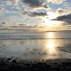 Sunset on Dingle Bay, Rossbeigh Beach by PrestoConn