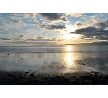Sunset on Dingle Bay, Rossbeigh Beach Photographic Print