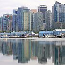 Reflections in Vancouver by aussiedi