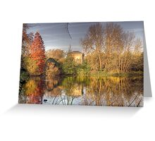 battersea park pump house Greeting Card