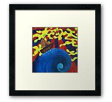 Tidal Phi Framed Print