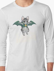 Gaelikitten - I am the NIGHT (off  white) Long Sleeve T-Shirt