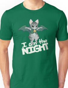 Gaelikitten - I am the NIGHT (off  white) Unisex T-Shirt