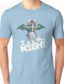 Gaelikitten - I am the NIGHT (off  white) Unisex T-Shirt