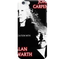 John Carpenter In Association With Alan Howarth iPhone Case/Skin