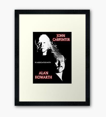 John Carpenter In Association With Alan Howarth Framed Print