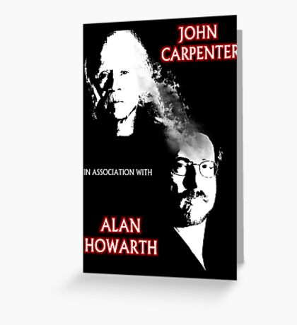 John Carpenter In Association With Alan Howarth Greeting Card
