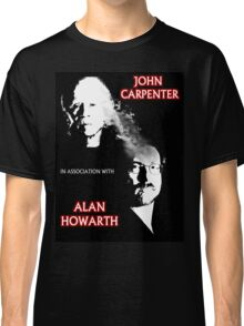 John Carpenter In Association With Alan Howarth Classic T-Shirt