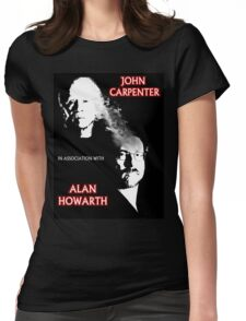John Carpenter In Association With Alan Howarth Womens Fitted T-Shirt