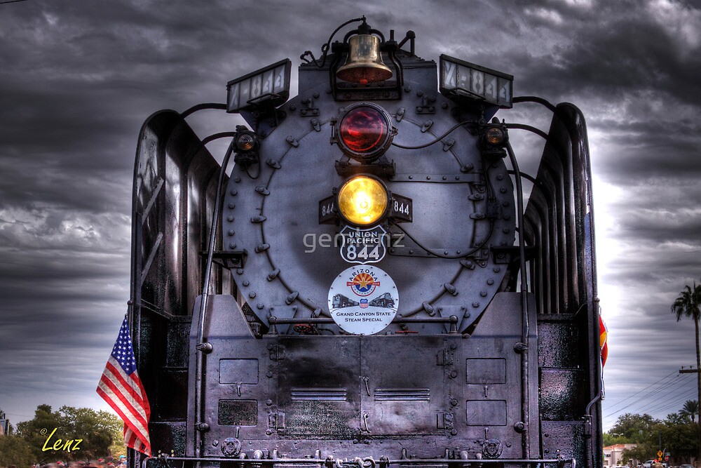 Centennial Locomotive by George Lenz