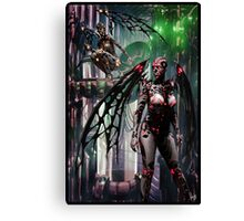 CyberHorror Painting 003 Canvas Print