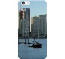 Brisbane River and apartments iPhone Case/Skin
