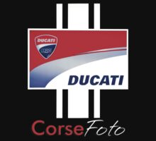 Ducati Sign T-shirt/sticker by corsefoto