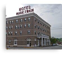 Mark Twain Hotel, Hannibal, Missouri, Usa Canvas Print