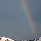 Rainbow over Jerusalem by johnnabrynn