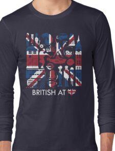 British @ Heart Long Sleeve T-Shirt
