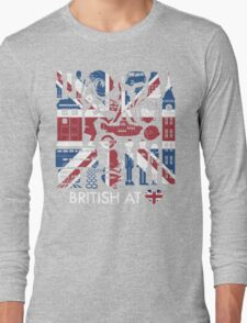 British @ Heart Long Sleeve T-Shirt
