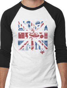 British @ Heart Men's Baseball ¾ T-Shirt