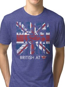 British @ Heart Tri-blend T-Shirt