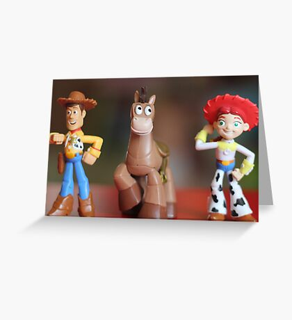 Toy Story Party Greeting Card