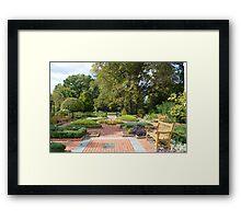 An Herb Garden Framed Print
