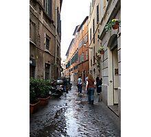 Italian Alley Photographic Print