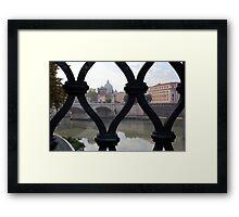 Italian Gate Framed Print