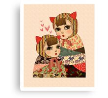 Kitty Pretty Canvas Print