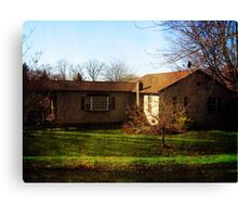 A New Home - Dedicated to Carole and Butch Canvas Print